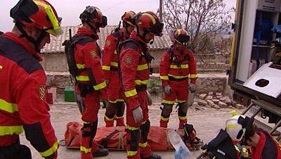 3.000 personas participan en un simulacro que recrea la catástrofe