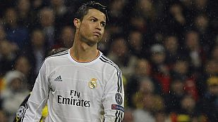 Gol y susto de Cristiano ante el Borussia