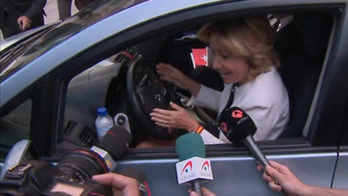 Esperanza Aguirre multada en Madrid