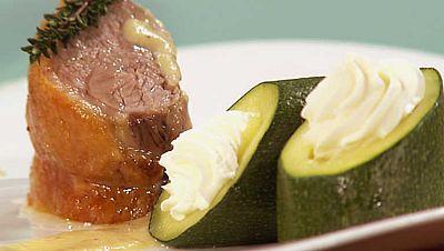Cocina con Sergio - Cordero asado con salsa de manzanas  - Ver ahora