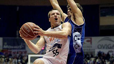 El Gipuzkoa Basket consiguió una importante victoria a domicilio en Santiago de Compostela, donde se sobrepuso a las bajas y derrotó a los locales por cuatro puntos.