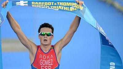 Nuevo éxito de Gómez Noya en las Series Mundiales de triatlón