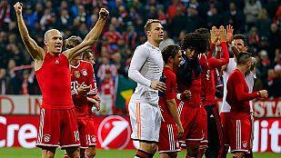 El Bayern remonta y se mete en semifinales