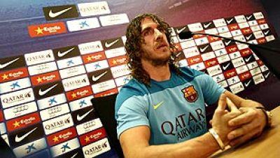 El jugador y capitán del FC Barcelona Carles Puyol ha comentado  este lunes que no hay fin de ciclo en el equipo blaugrana porque  todavía queda mucha temporada y tienen dos títulos en juego, el  primero este miércoles en Mestalla ante el Real Madrid