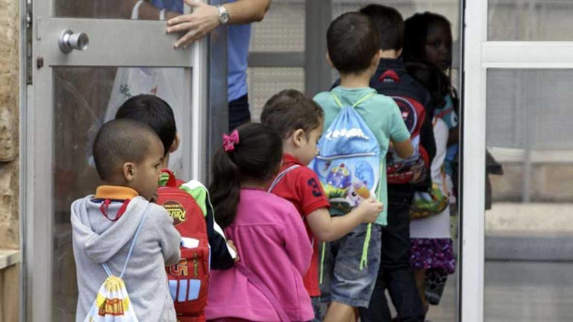En España, el 36'8% de los niños vive bajo el umbral de la pobreza