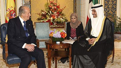 Las autoridades de Kuwait expresan al Rey su interés por incrementar sus inversiones en España