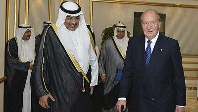 El Rey regresa a España con retraso debido a una avería en el avión
