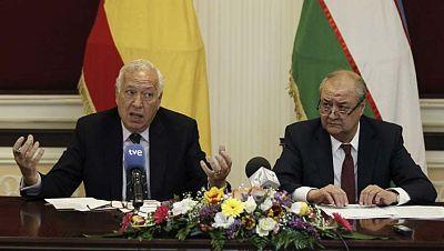 Margallo responde a Urkullu que el Gobierno está dispuesto a dialogar, pero dentro de la ley