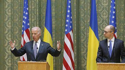 Estados Unidos muestra su apoyo a Ucrania