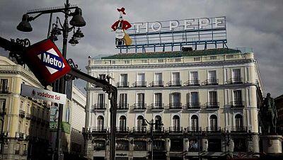 Vuelve el mítico cartel de Tío Pepe a la puerta del Sol