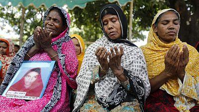Las víctimas del derrumbe de Bangladesh no encuentran justicia un año después