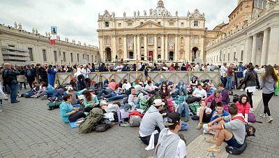 Todo listo en Roma para la canonización de los dos papas