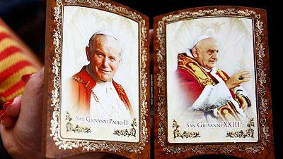 Dos papas diferentes, Juan XIII, el casero y Juan Pablo II, más viajero