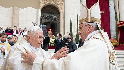 Francisco canoniza a Juan Pablo II y Juan XXIII