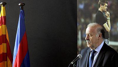 """Del Bosque: """"La de Tito es una pérdida tremenda"""""""