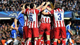 El Atlético acaba con el Chelsea de Mourinho (1-3)