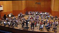 """La Orquesta de RTVE y """"Acci�n social por la m�sica"""" comparten partitura y pasi�n"""