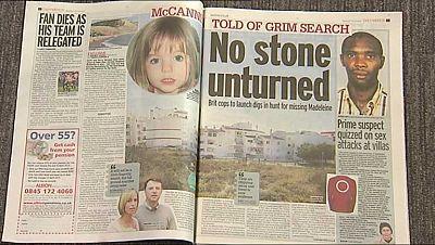 La policía británica estudia emplear un georradar para buscar posibles restos de Madeleine McCann en Portugal