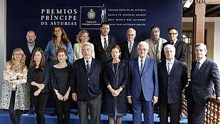 Lectura del fallo del jurado del Premio Príncipe de Asturias de las Artes 2014
