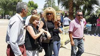 Monterrubio de la Serena sigue de luto por la muerte de cinco adolescentes