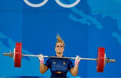 Lidia Valentín se queda sin medalla.