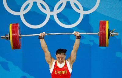 La china Lei Cao ha conseguido la medalla de oro en halterofia, batiendo el récord olímpico.