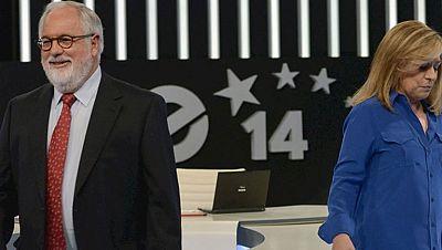 """Valenciano acusa al Gobierno de negar la """"pobreza"""" y Cañete la atribuye al desempleo creado por el PSOE"""