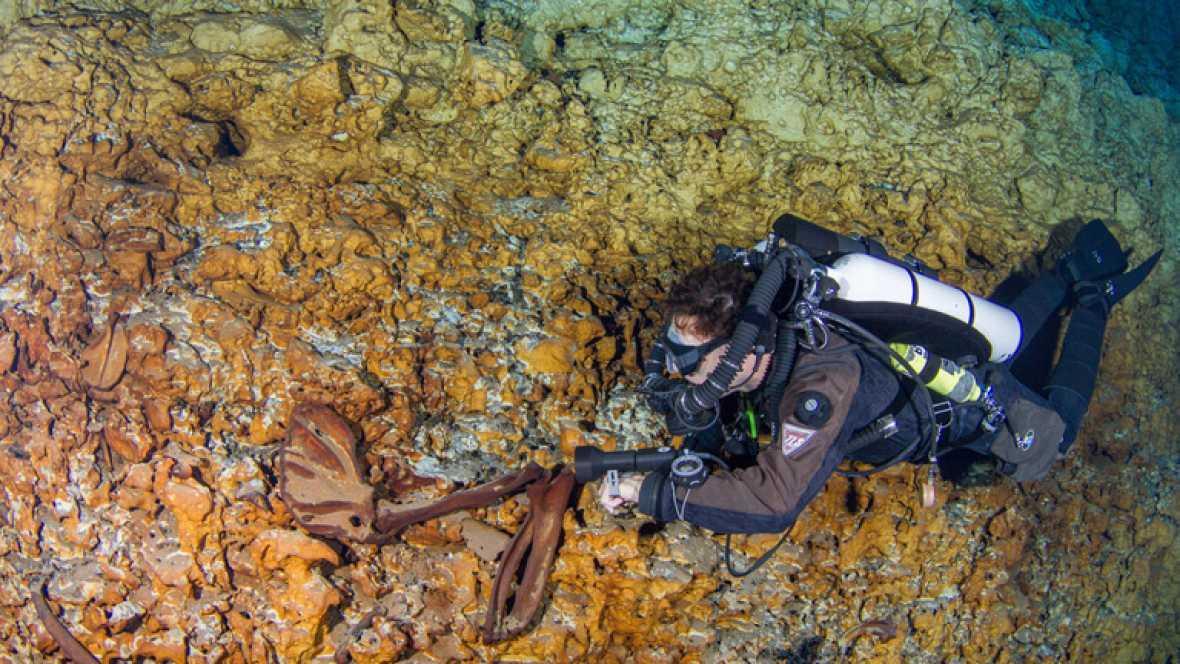 Descubren en México a 'Naia', el esqueleto más antiguo de América