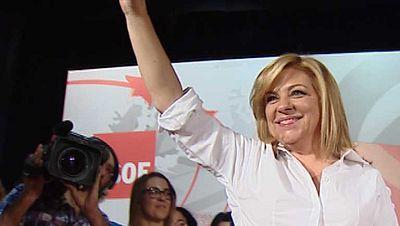 Elena Valenciano ha dicho que si gana Cañete pierden las mujeres