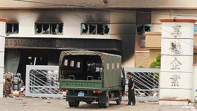 Más de 500 fábricas dañadas en las protestas antichinas de Vietnam