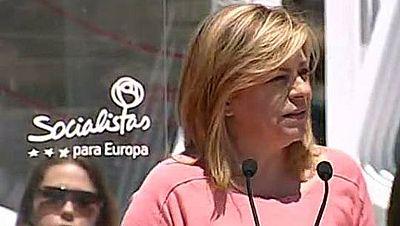 Valenciano pide el voto de los jóvenes, los trabajadores y las mujeres en Valencia