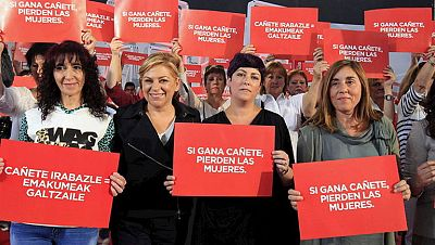 """Valenciano pide un """"no como una casa"""" a la derecha"""