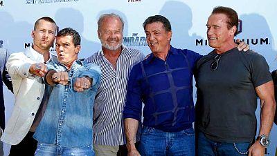 """La presentación de """"Los mercenarios 3"""" revoluciona Cannes"""