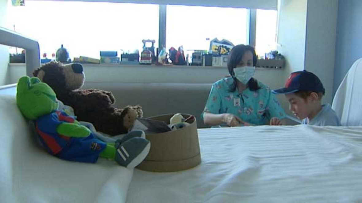 En España ocho de cada diez niños con cáncer se curan
