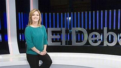 Debate en TVE de los seis candidatos con representación en el Parlamento Europeo