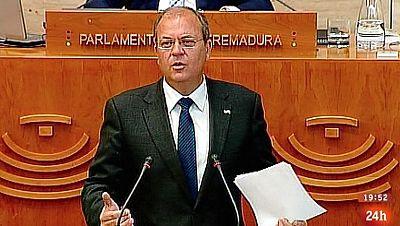 Parlamento - Otros parlamentos - No a la moción de censura extremeña - 17/05/2014