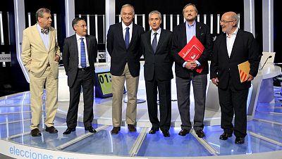 Los candidatos a las elecciones europeas piden el voto tras el debate a seis