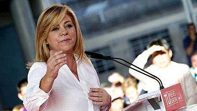 Elena Valenciano acepta las disculpas de Cañete aunque cree que llegan tarde