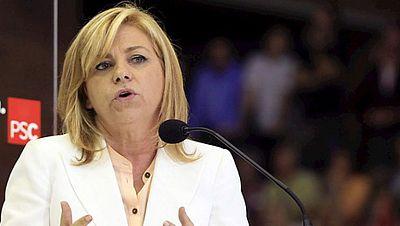 Elena Valenciano arremete contra las políticas del presidente del Gobierno