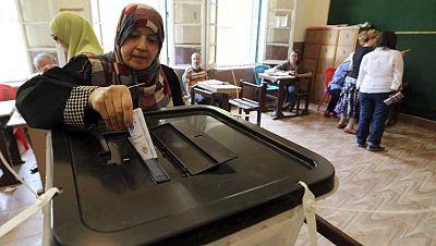 Último día de votaciones en Egipto