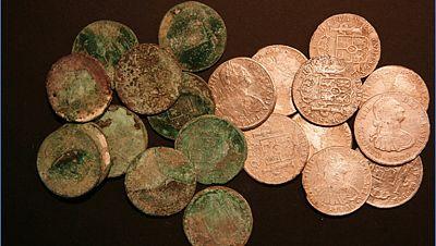 Se inaugura en Cartagena la exposición con los tesoros robados por Odissey