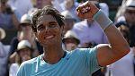 Nadal, entre los cuatro españoles que llegan a octavos de Roland Garros