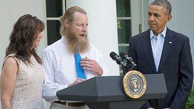 Los talibanes liberados a cambio de Bowe Bergdahl estarán un año en Qatar, país mediador