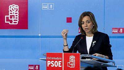 Carme Chacón renuncia a la secretaría general del PSOE