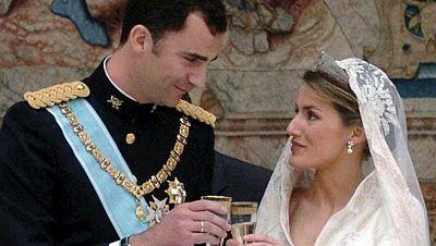 El amor de Felipe y Letizia