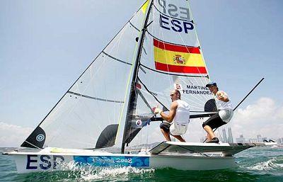 Al final la decisión de los jueces se ha declinado por mantener la plata de los regatistas españoles Iker Martínez y Xabi Fernández, a pesar de que los daneses utilizaron un barco que no era el suyo.