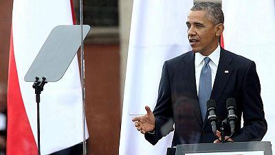 Obama: los ucranianos son herederos de los polacos en la solidaridad y la lucha por la libertad