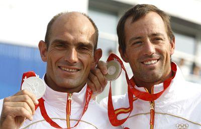 Iker y Xavi se quedan con la plata