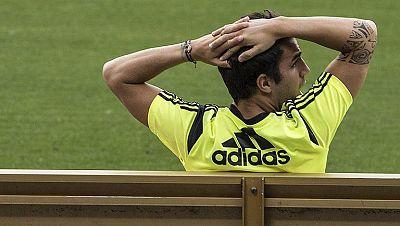 Cesc, foco de atención en la Roja tras conocerse su marcha del Barça