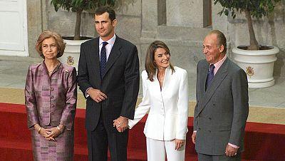 Felipe y Letizia, un compromiso de futuro